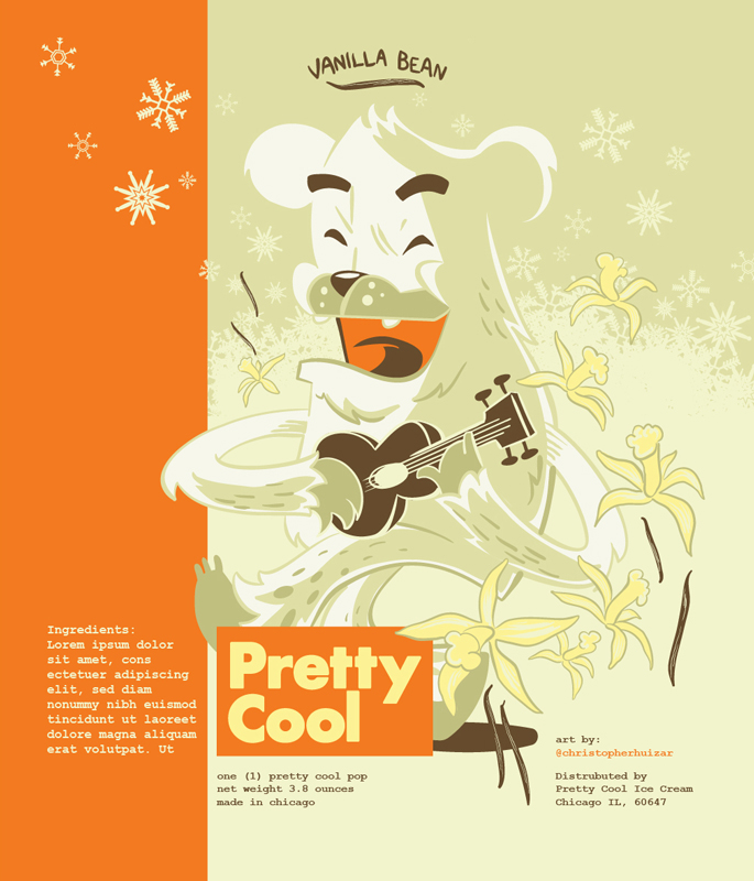Illustration for Pretty Cool, created by Christopher Huizar
